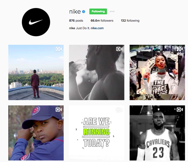 Best Instagram Brands: 10 Creative Brands to Follow for Inspiration: Nike