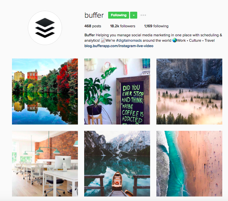 Best Instagram Brands: 10 Creative Brands to Follow for Inspiration: Buffer