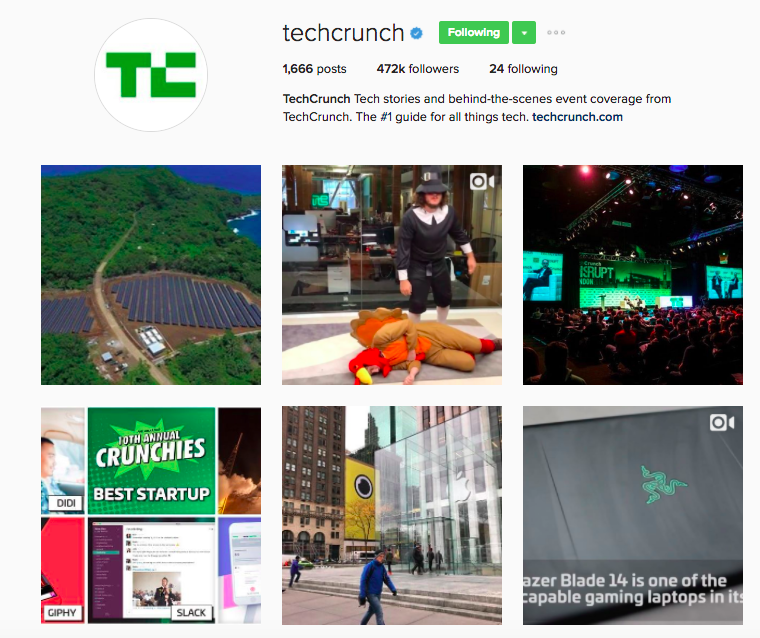 Best Instagram Brands: 10 Creative Brands to Follow for Inspiration: Techcrunch