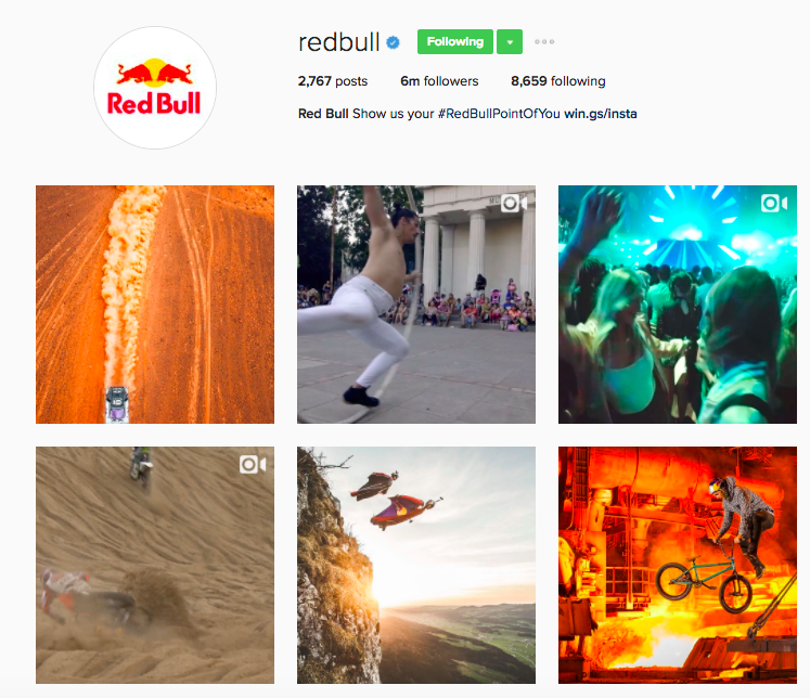 Best Instagram Brands: 10 Creative Brands to Follow for Inspiration - Red Bull