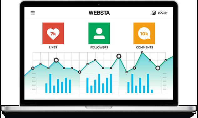 Websta for Instagram - 15 Best Instagram Apps for Marketing Your Business