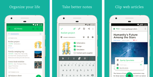 Evernote - App for Social Media Marketers