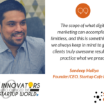 Sandeep Mallya featured among 30 innovators who changed the startup world